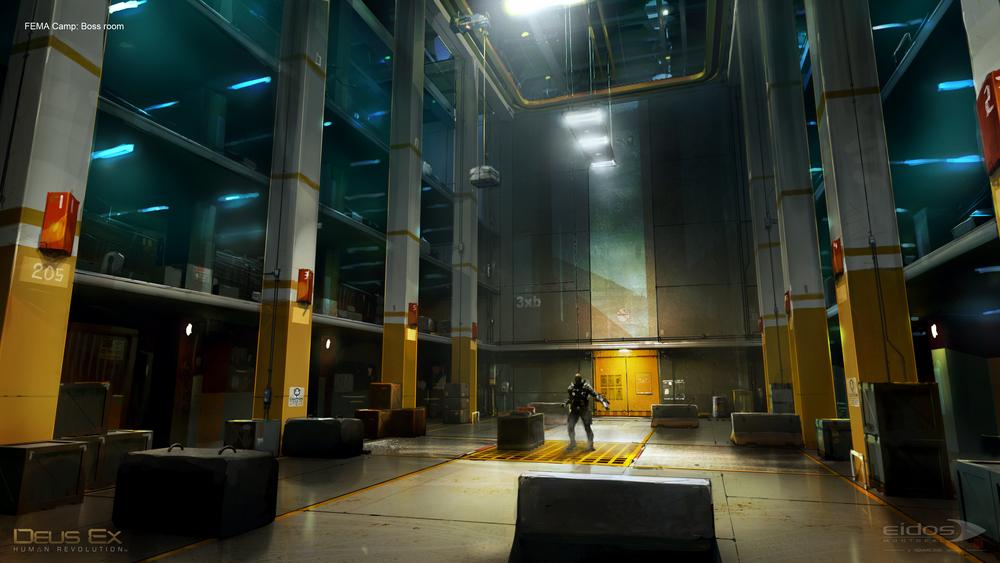 Deus Ex HR: Minotaur, ©️️Eidos Montreal.