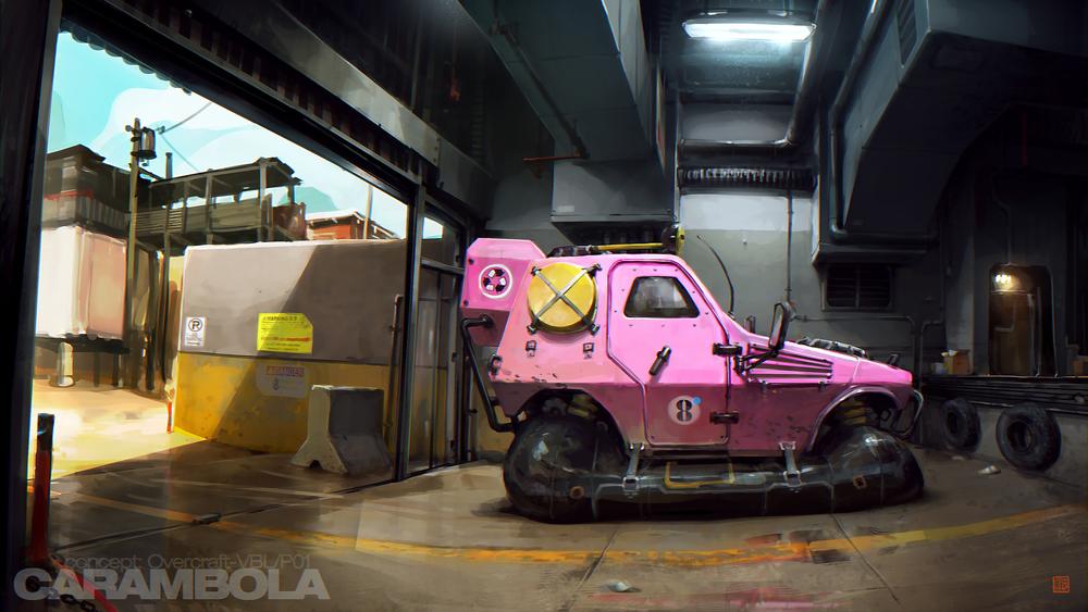 Mud_Pink hovercraft