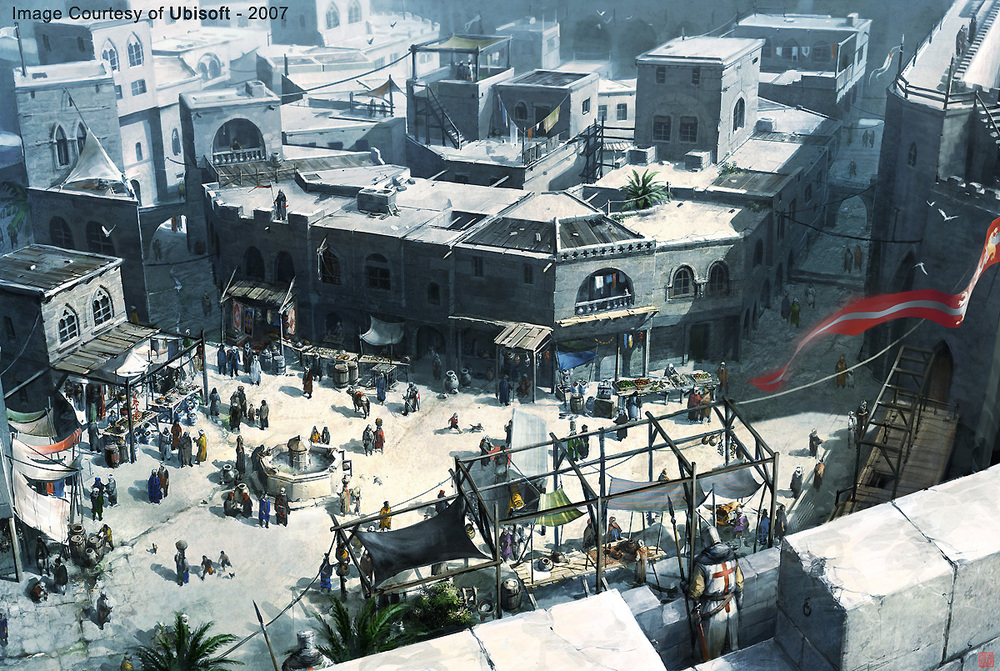 Assassin's Creed_Market, ©️️Ubisoft Montreal.