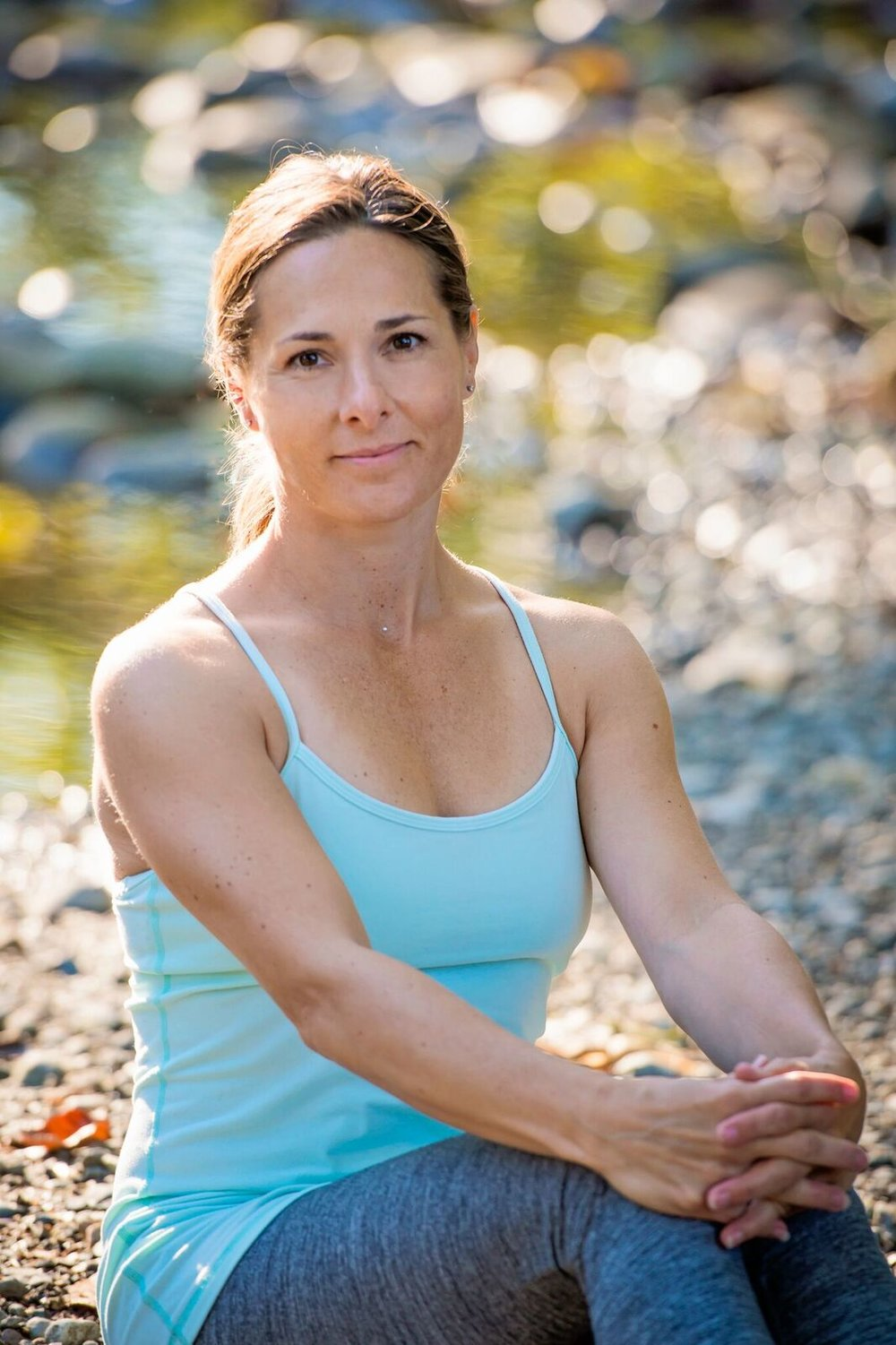 "Lori Charko   Certified in Classical Hatha yoga in 2001, Lori since has over 500 hours of certifications and qualified experience in Yin Yoga, Prenatal Fitness, Mom & Baby Yoga and Anusara Yoga. Including her former years of Advanced Personal Training, she has over 24 years of experience teaching fitness and yoga. Lori's SFU kinesiology education, nutrition, fitness and yoga studies, along with her world travels and an authentic caring nature, have her guiding dynamic, safe and enjoyable classes. Inspired by teachers such as Sarah Powers, Seane Corn, Rod Stryker, Bernie Clarke and Lila Rasa Brown, Lori loves to diversify teachings by incorporating yogic philosophy and positive lifestyle themes into her classes. Lori believes that personal wellness comes from the fulfillment of physical, mental, emotional and spiritual needs. An appropriate balance of these needs results in a life of health and happiness. It can be said that those who partake in her yoga commonly experience a ""connection to self"" and a ""sensation of peacefulness"".  Peace and Body Harmony to All, Namaste"