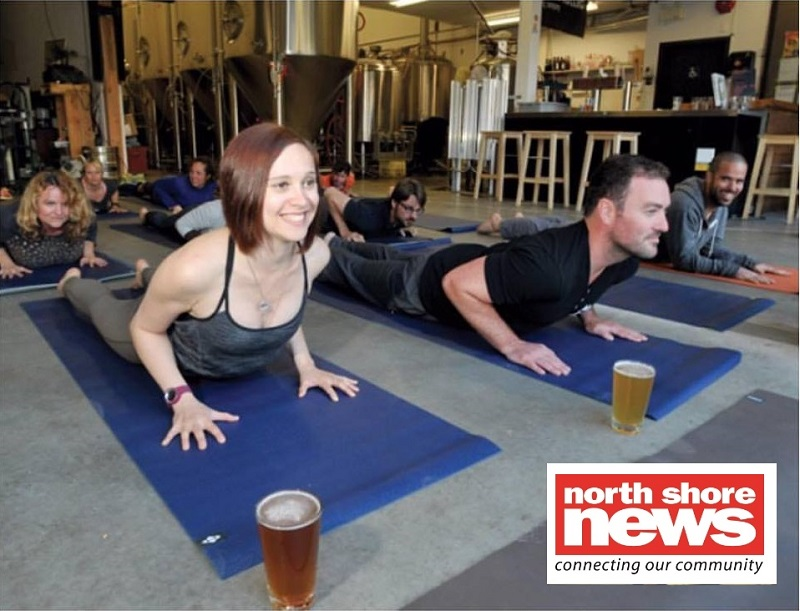 Brewga Classes - Learn more about The Yoga Root and Black Kettle Brewery's weekly BREWGA classes and why we wanted to join forces for our community in the North Shore News by clicking HERE.Special thanks to Erin McPhee for writing about this partnership in our local newspaper!