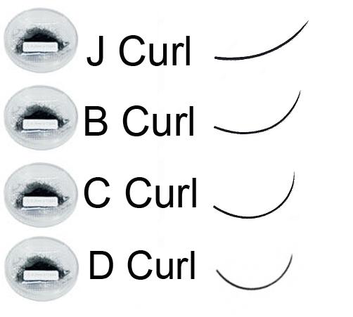 5ce9fa8af4f Japanese Air Sable Eyelash Extension Trays - J Curl — Lashes by Shigeru