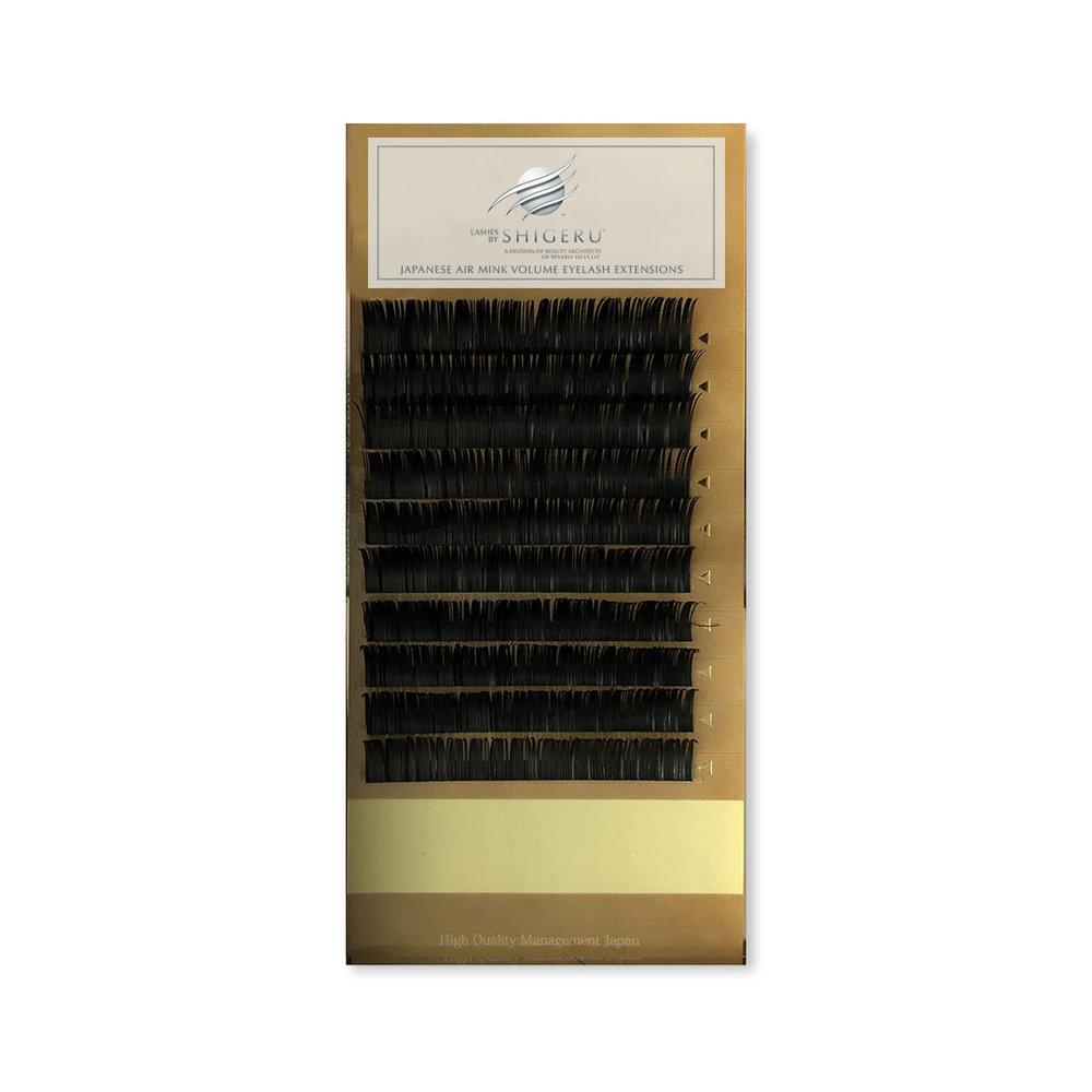 e8071b24b26 Premium Japanese Air Mink Volume Eyelash Extension Trays - C Curl ...