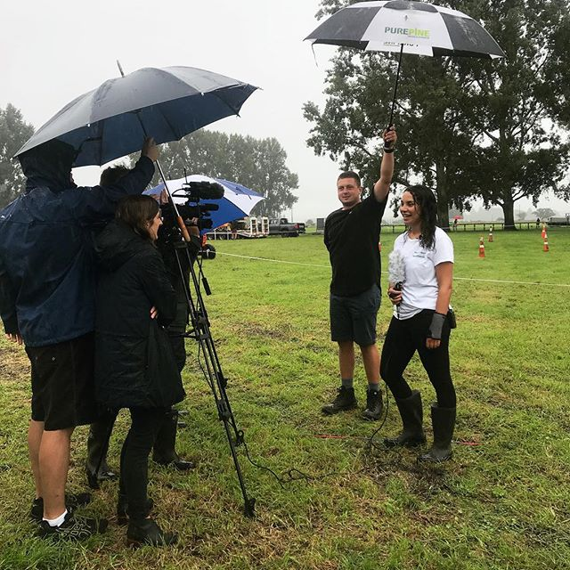 The rain won't stop us! The competition is kicking off at the Te Puke A&P show at 9am today. Come support our contestants!