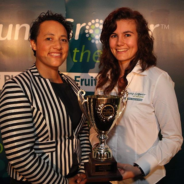 Big congratulations to Danni from Trevelyans for winning our Bay of Plenty Young Fruit Grower Competition. We wish you the best of luck for nationals!