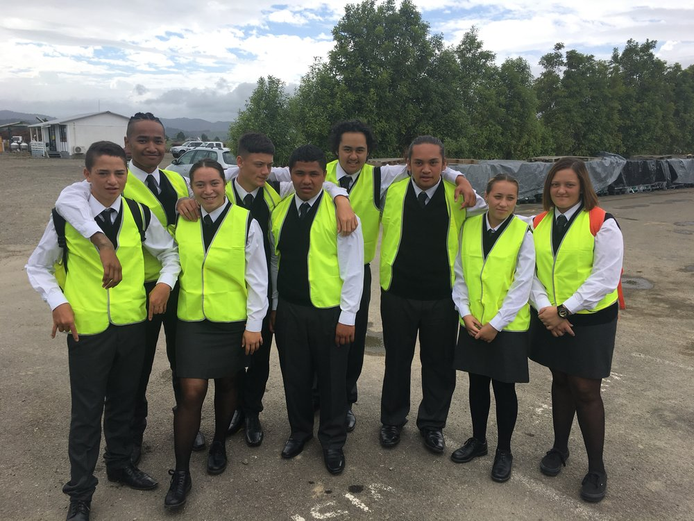 Te Kaha students on tour to learn about careers in horticulture.jpeg