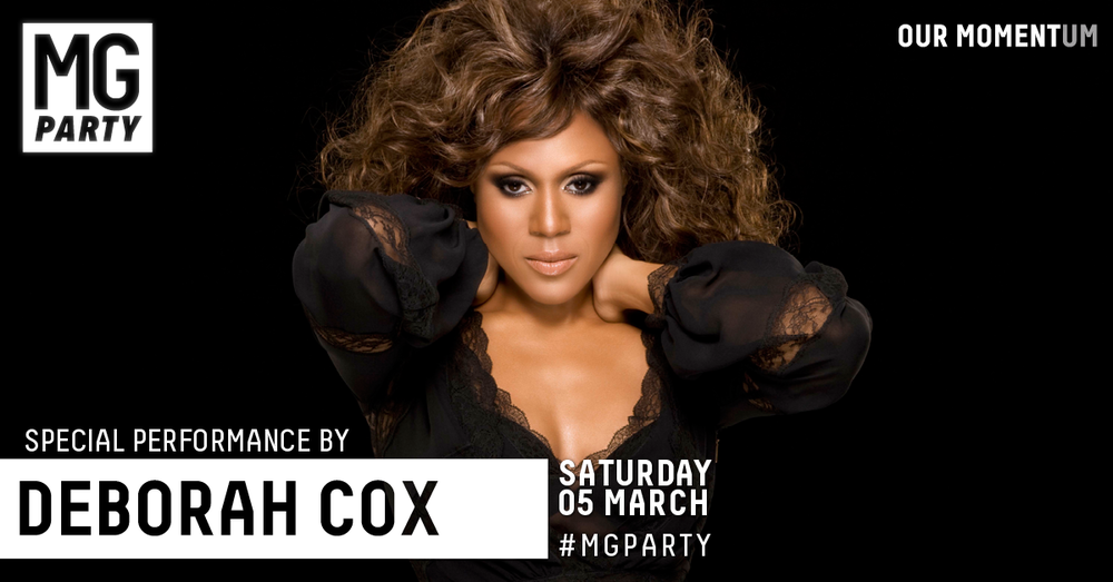 10 Feb: International R&B queen Deborah Cox announced to headline the 2016 Mardi Gras Party in an exclusive production show in the Royal Hall of Industries (RHI)