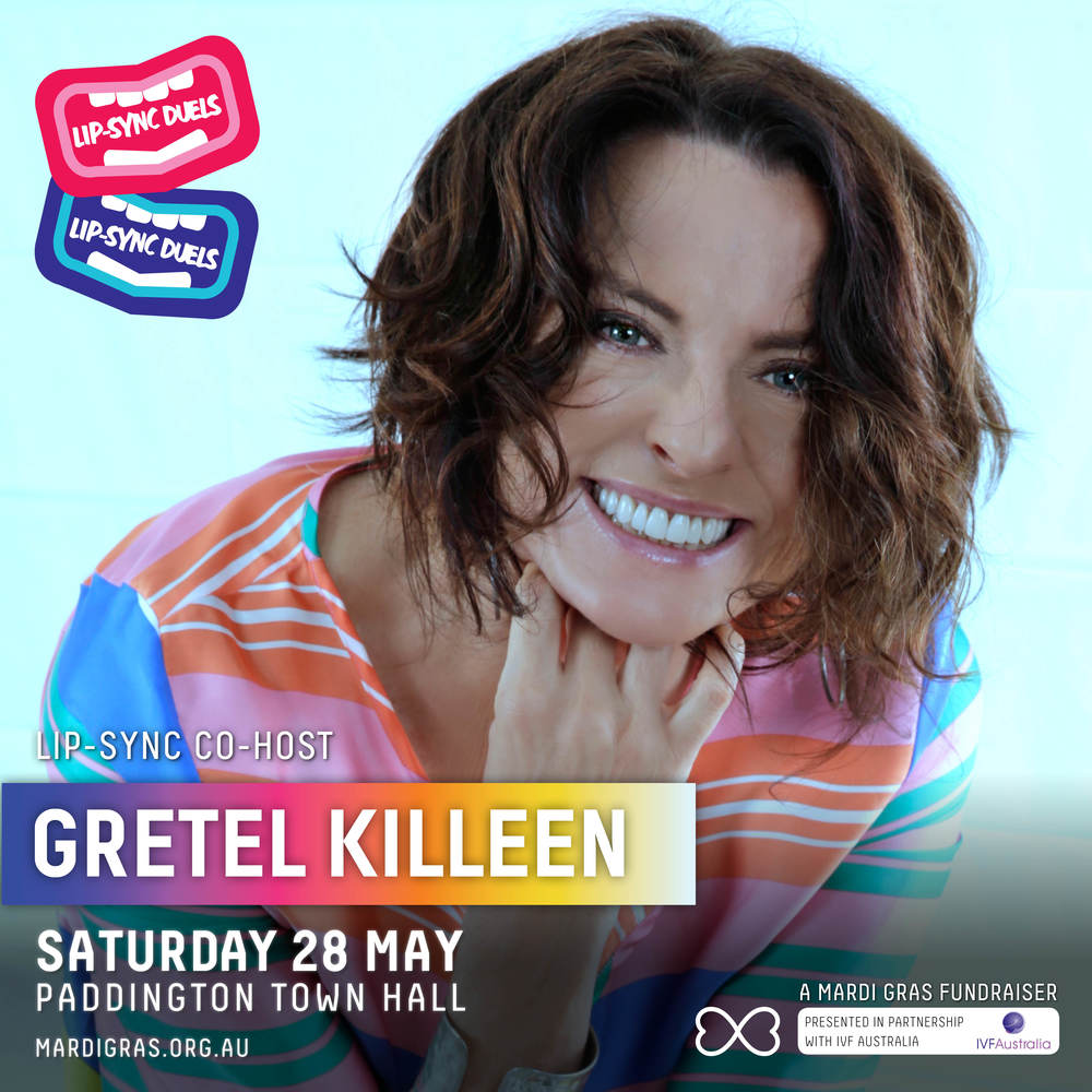 Gretel Killeen is back to host again in 2016 bringing her sharp wit and finely-tuned rowdy-crowd-control measures too!