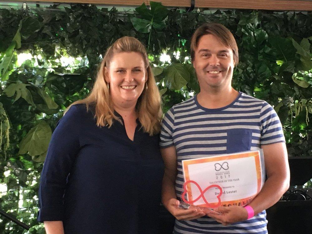Volunteer of the Year: Danile Lester