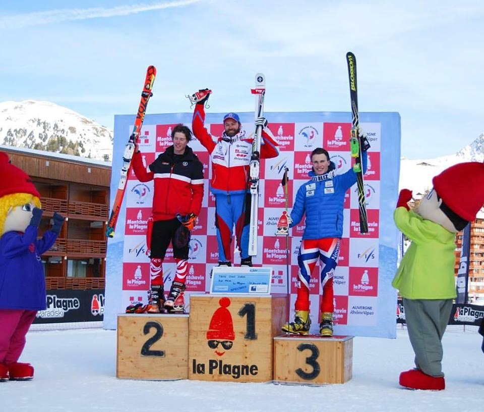 Trym tok 3. plass i verdenscupåpningen i Frankrike. FOTO: Kristin Berge, Norges Skiforbund - Telemark