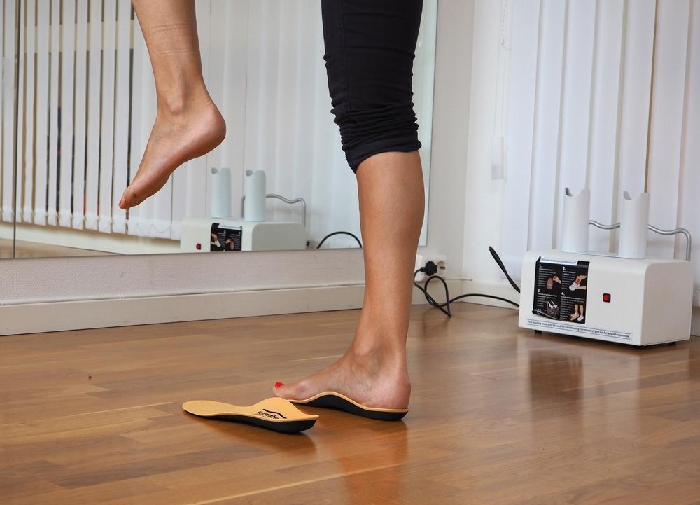 Formthotics sålesystem kommer i flere varianter, avhengig av fotens utforming. FOTO: Fokusklinikken