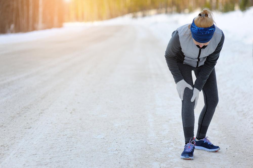 Tilstanden er vanlig blant personer som løper mye