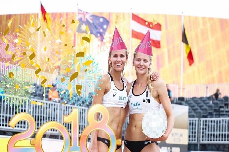 Vi ønsker Oda og Ingrid lykke til i NM finalen i Ekerberghallen 13 januar.