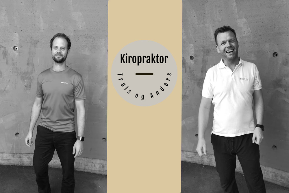 Kiropraktor Truls og Anders ved Fokusklinikken.