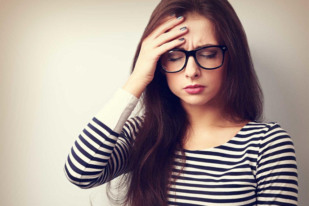 Spenningshodepine er den vanligste formen for hodepine.