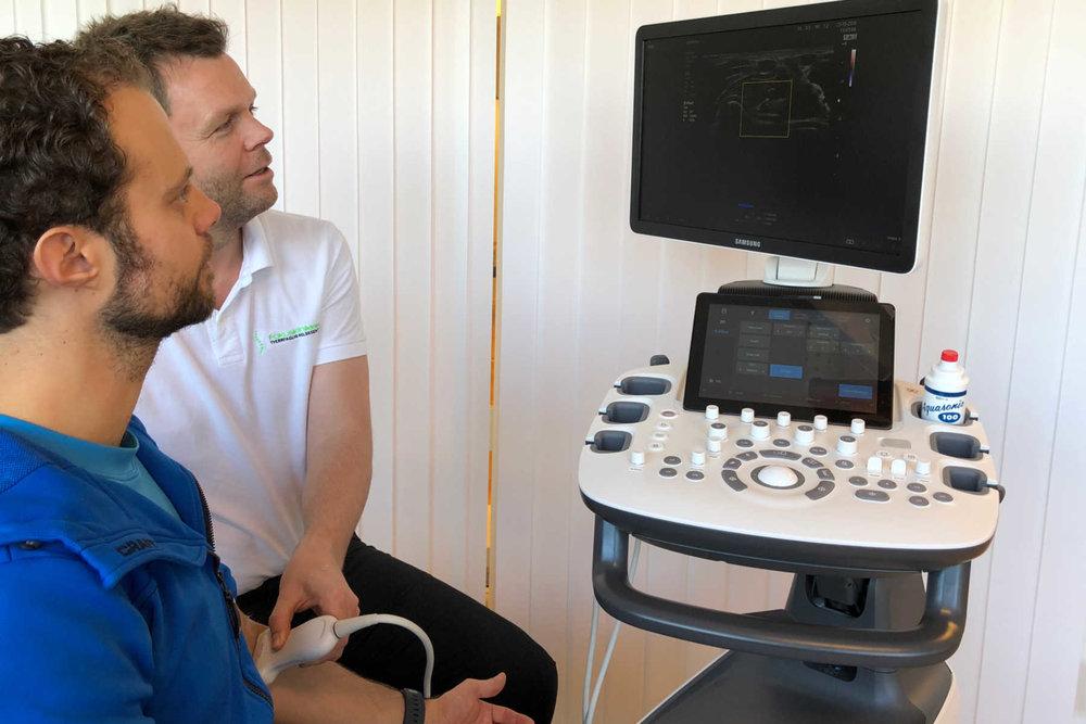Fokusklinikken tilbyr når diagnostisk ultralyd til våre mange pasienter med plager i muskler, sener og leddbånd.