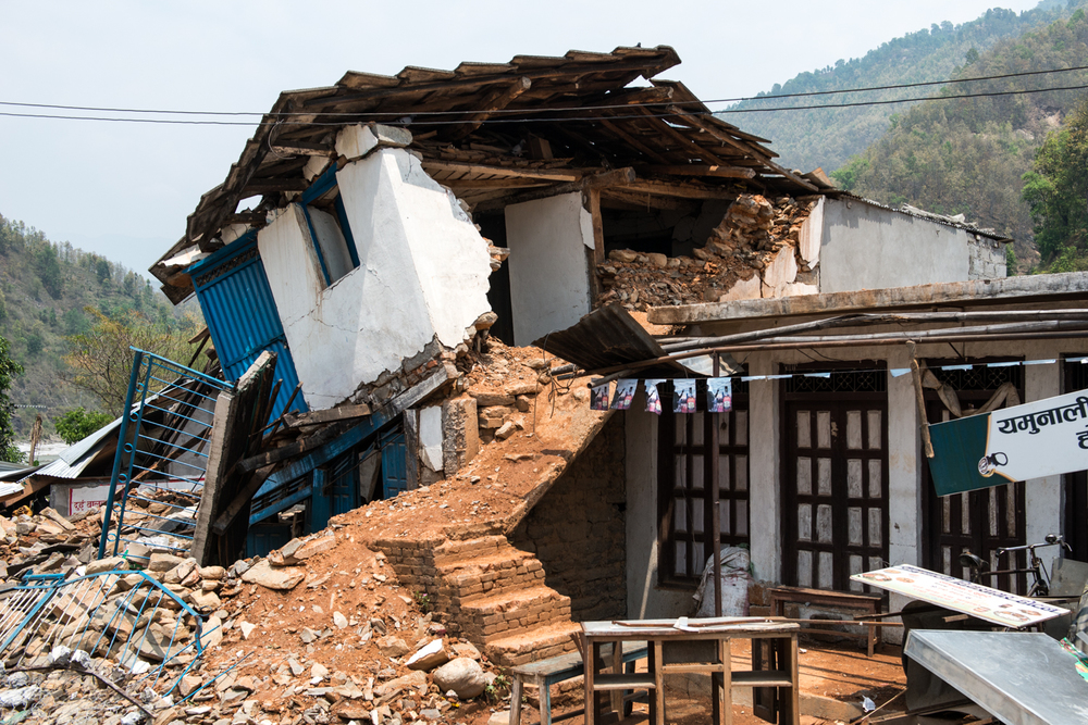 Sindhupalchok was arguable the worst hit from the earthquake. As of today, about 3057 people were found dead and 860 were injured. According to district authorities, 63,885 houses were severely damaged.