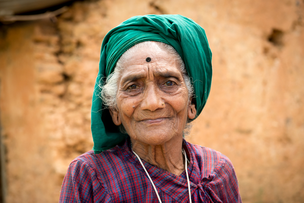 This elder couldn't have enough pictures! Her sense of strength and character showed through in every photograph.