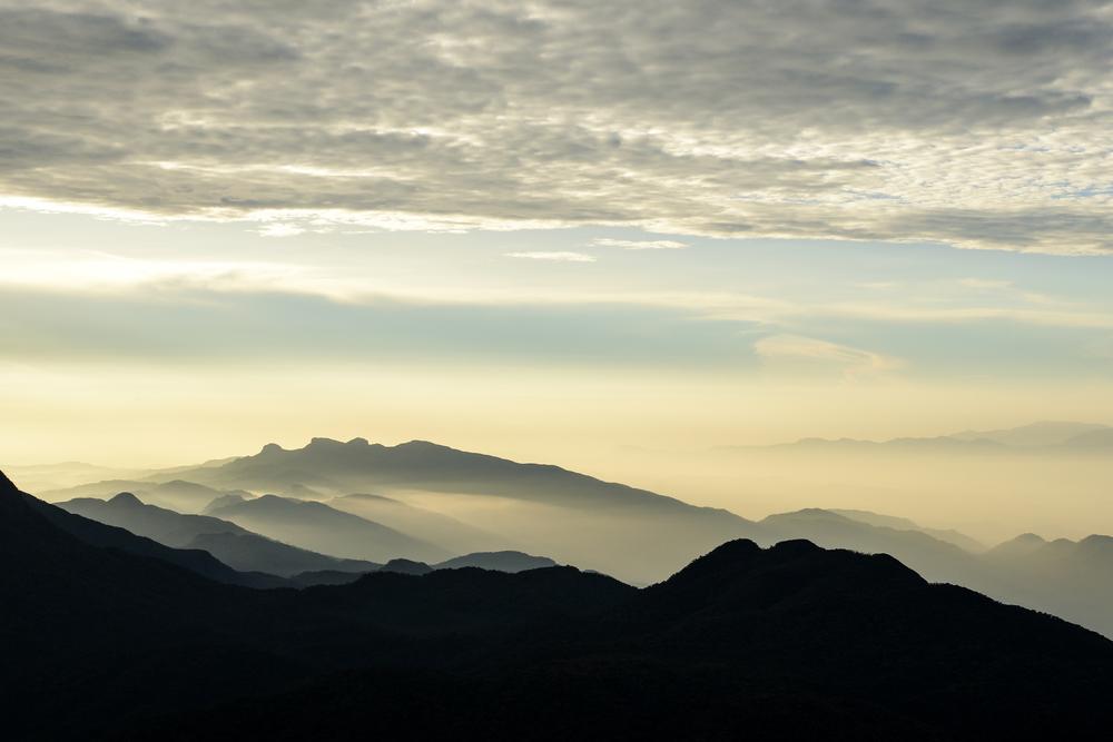 Sunrise from Adam's Peak
