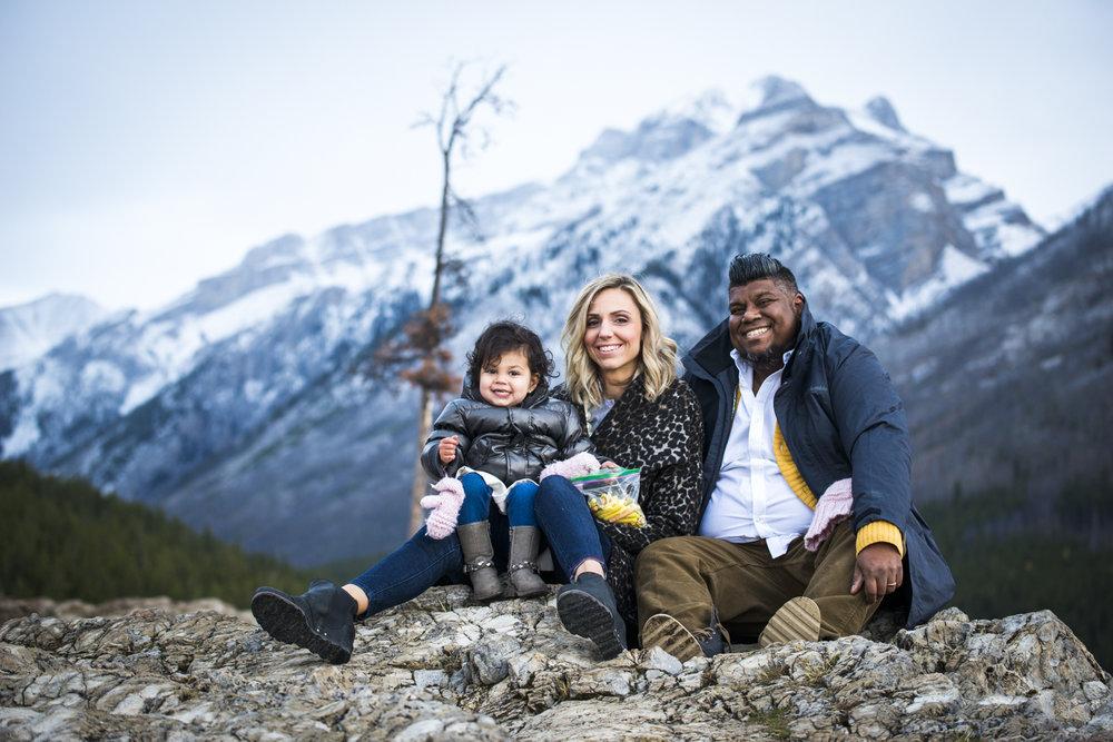 Rachel, Miraj & Charlotte's family photography session