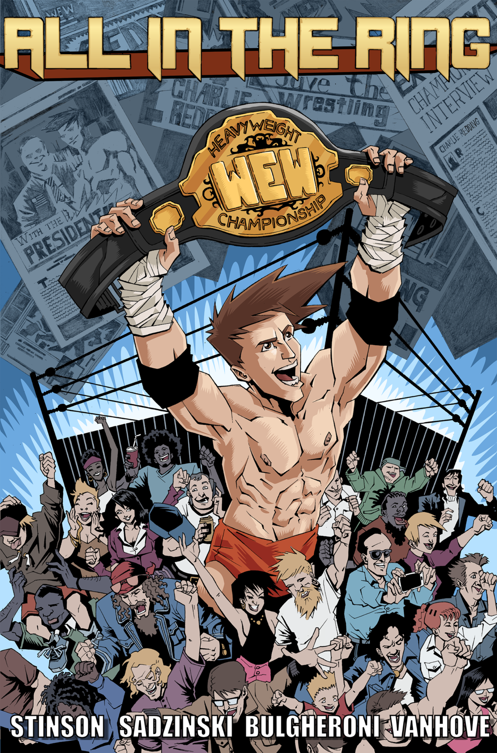 All in the Ring #1 Preview