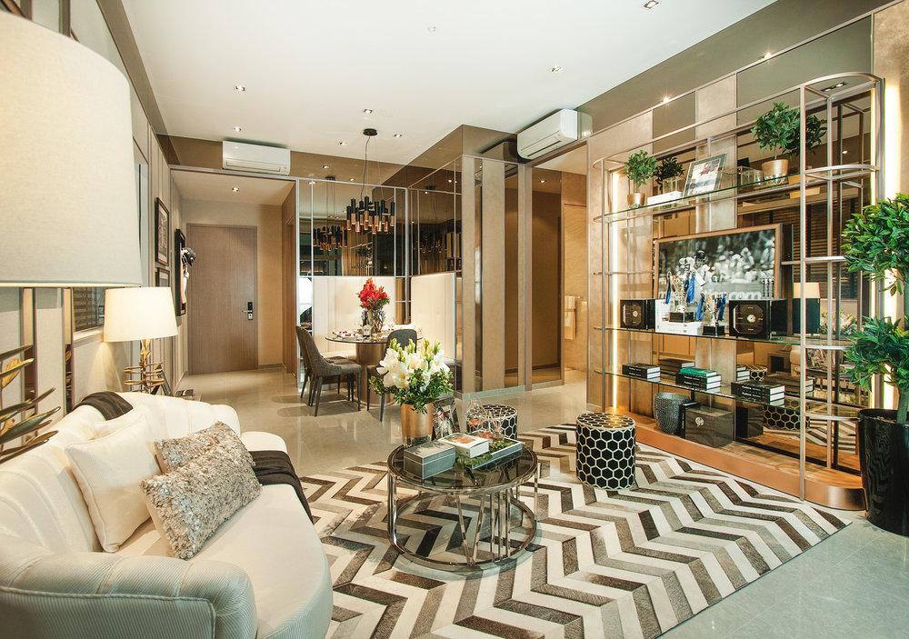 Sturdee Residence Interior 5 Living