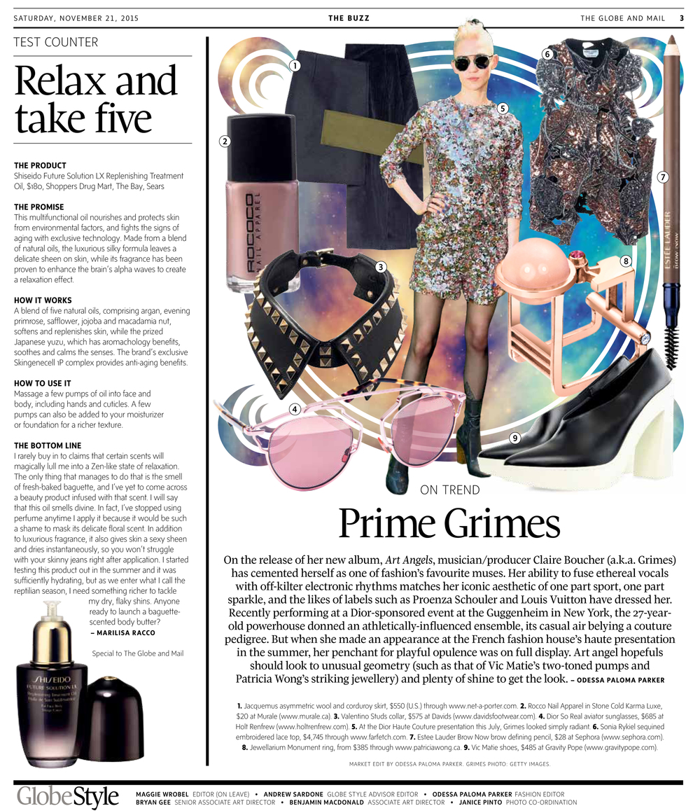 The Globe and Mail Grimes Trend Edit Nov 21 2015