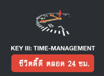 Key III: Time-Management