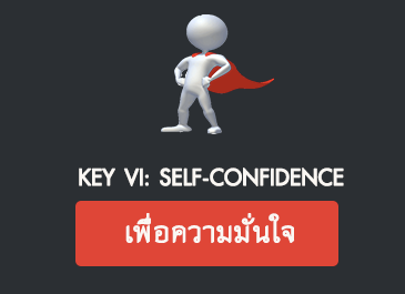 Key VI: Self-Confidence