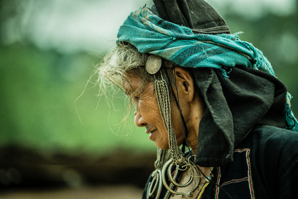Akha woman. Laos
