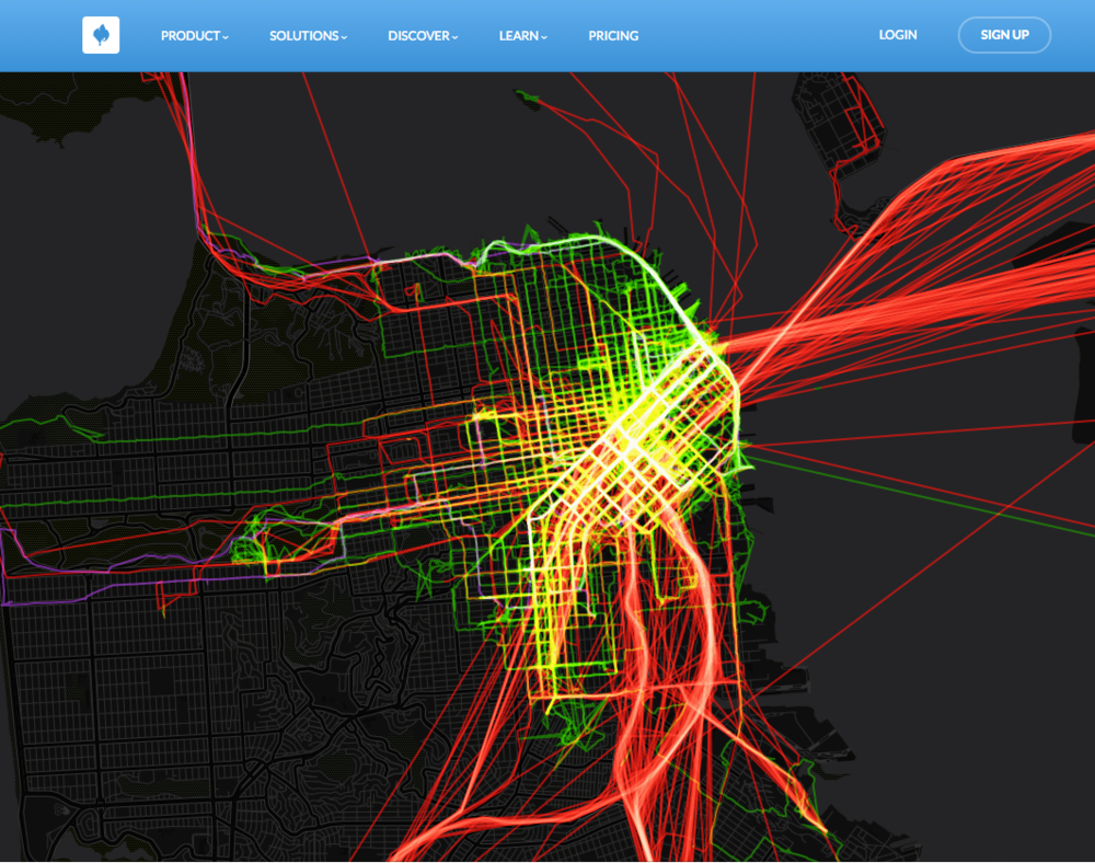 WALKING, CYCLING, AND EVERYTHING ELSE! CartoDB example link here