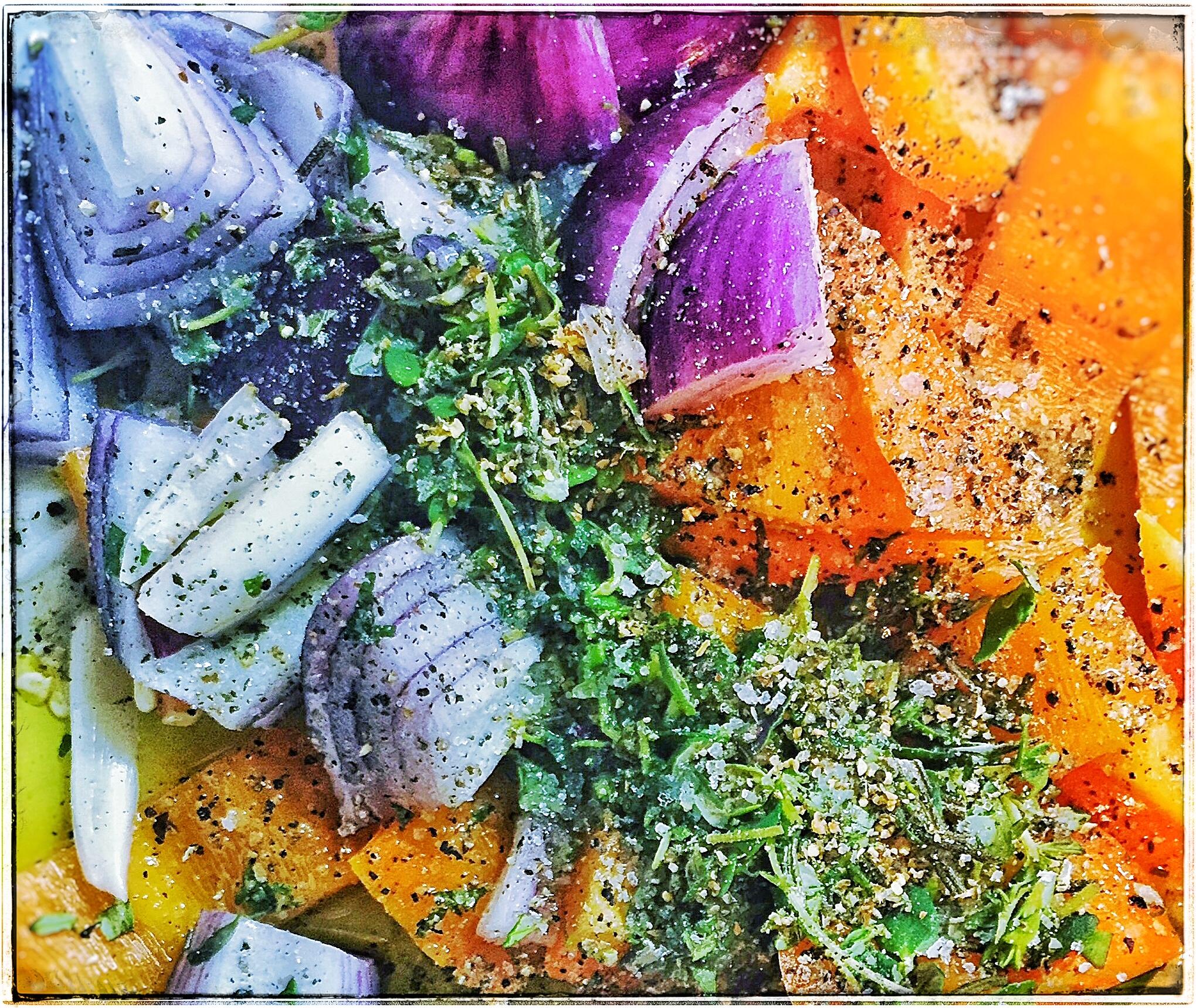 chicken-kebab-vegetable-mix