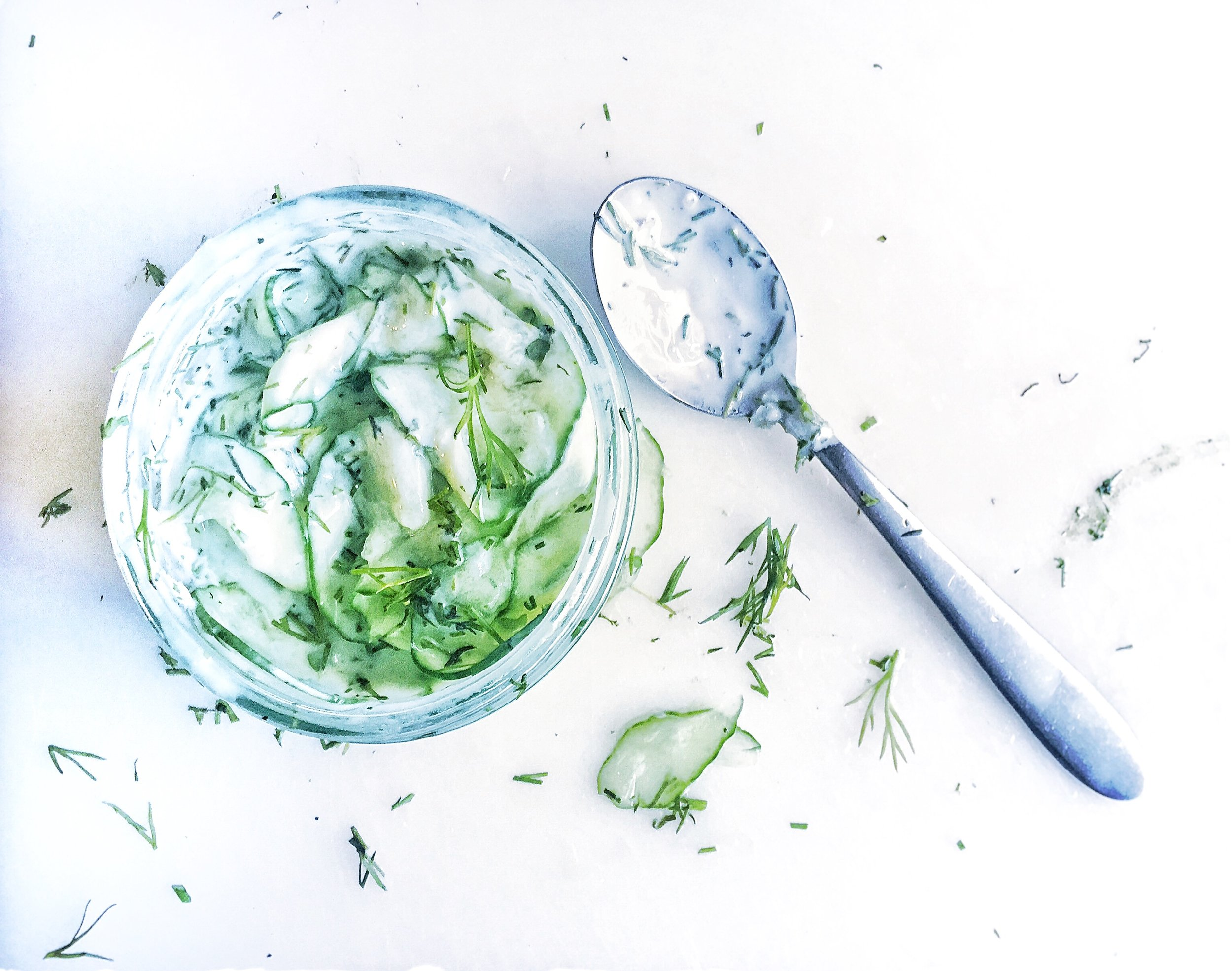 mizeria-Polish-cucumber-salad