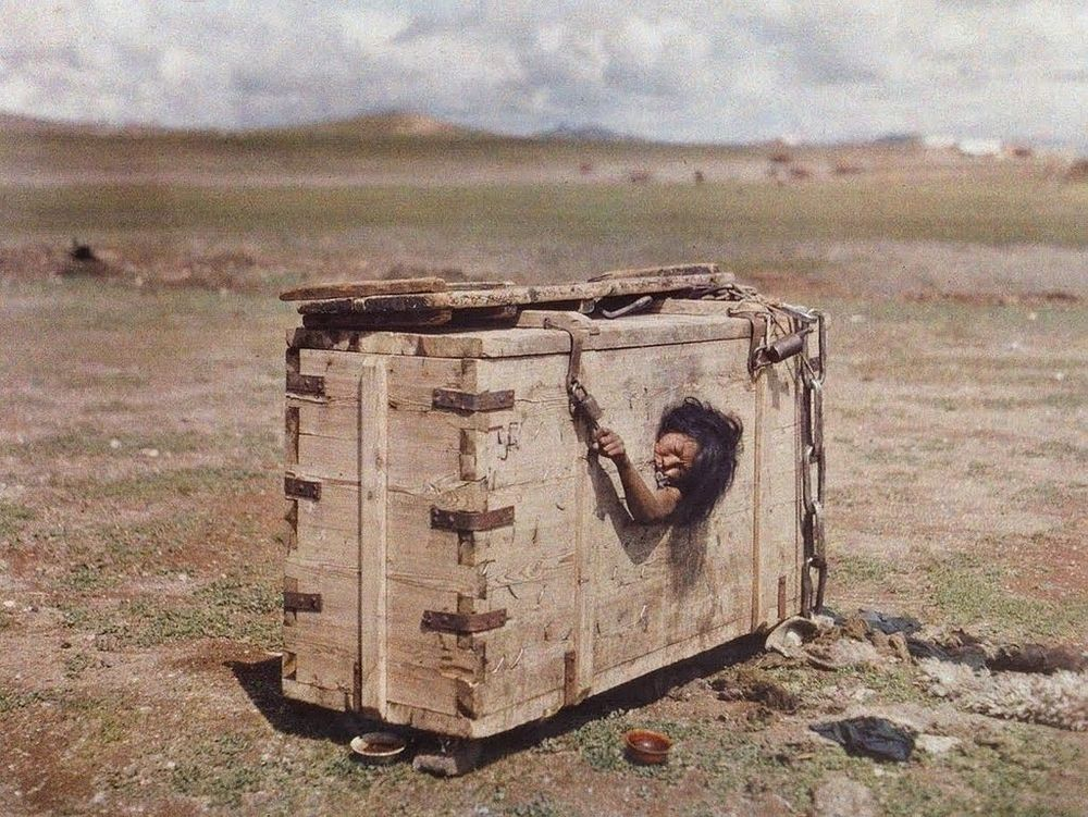 "1913 Mongolia Stephane Passet for Albert Kahn's ""The Archives of the Planet"""