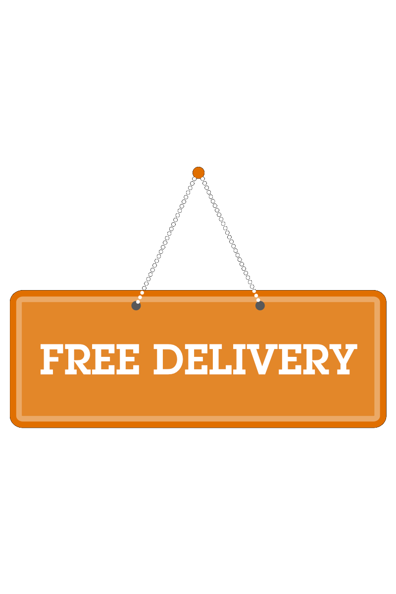 Free delivery on Anna Maria Island