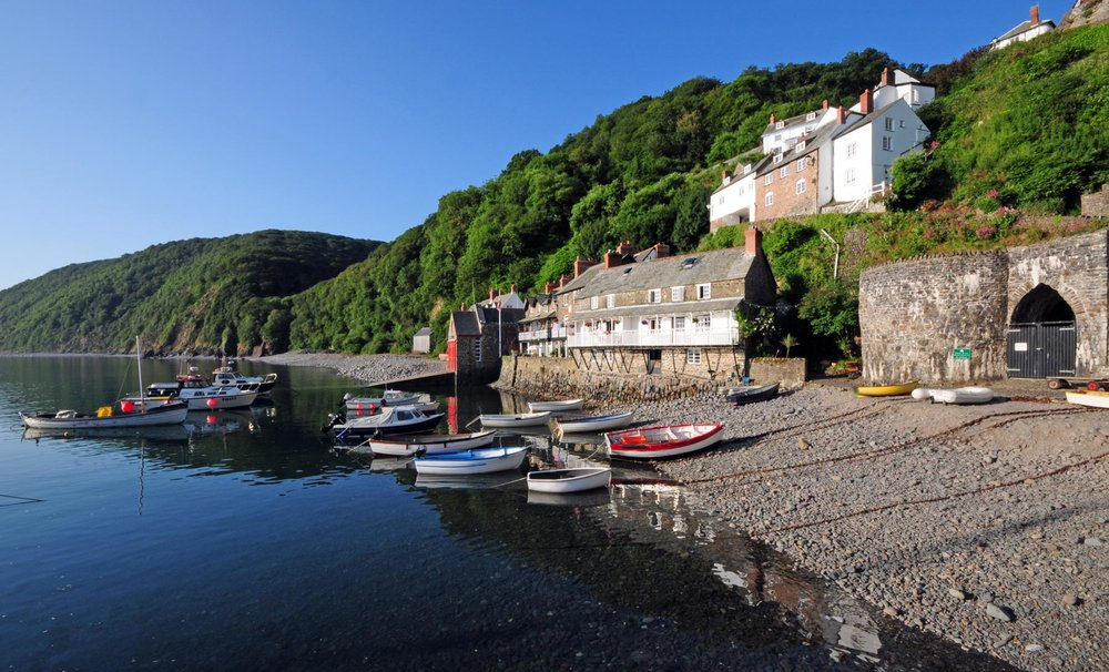 1. The Harbour, Clovelly, Devon  copy.JPG