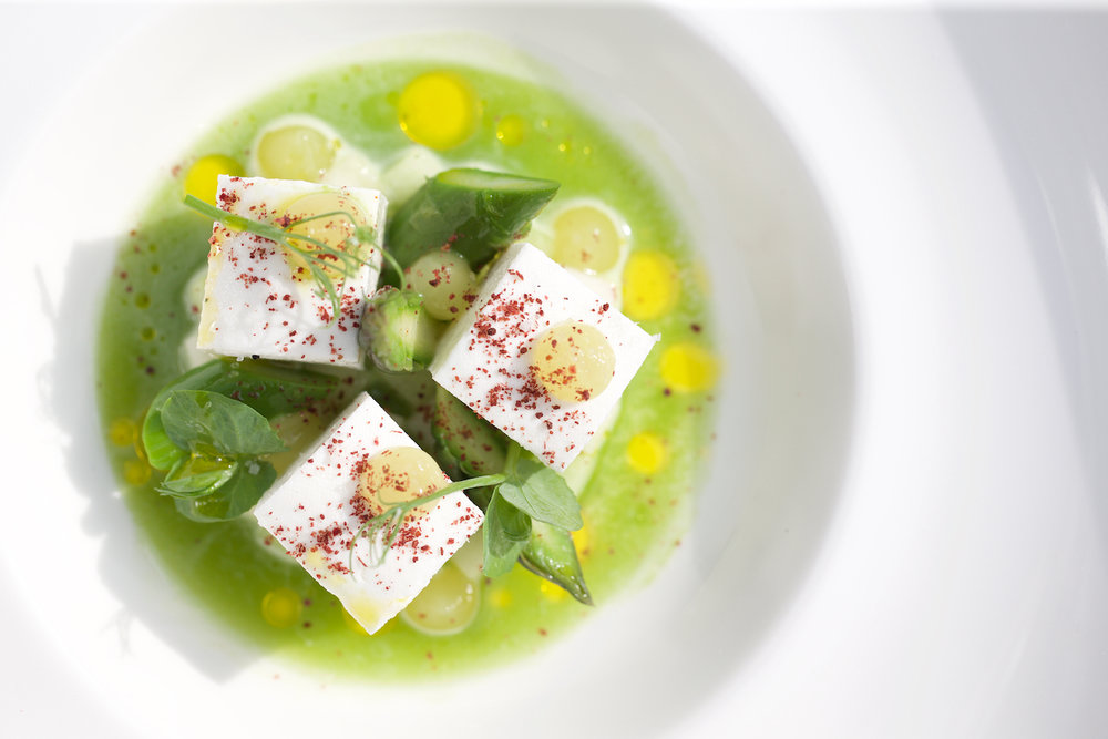 Lords of the Manor - Charles Smith Homemade feta, sumac, kohlrabi and sorrel juice.jpg