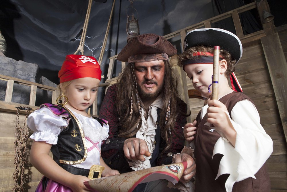 Treasure Maps. Pirate's Quest. Newquay. Cornwall .jpg