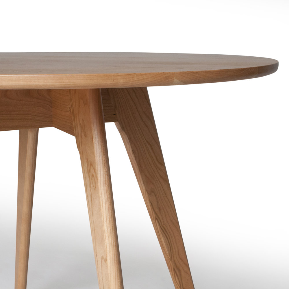 Round Dining Table Mid Century Kitchen Table Sister Nathan