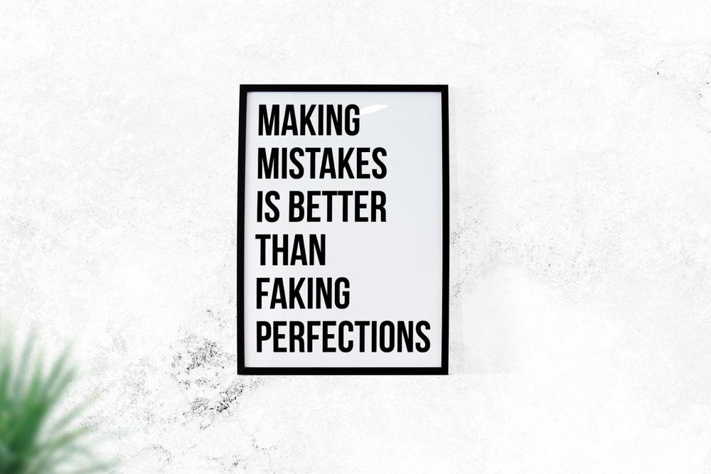 6. Make Mistakes