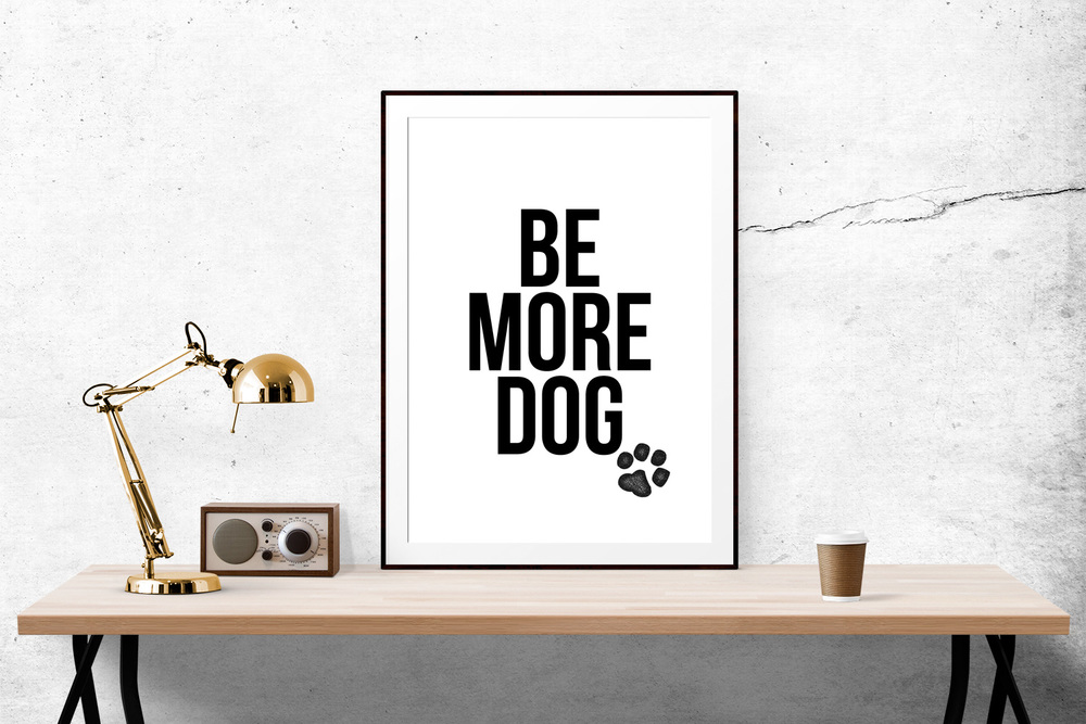 7. Be More Dog