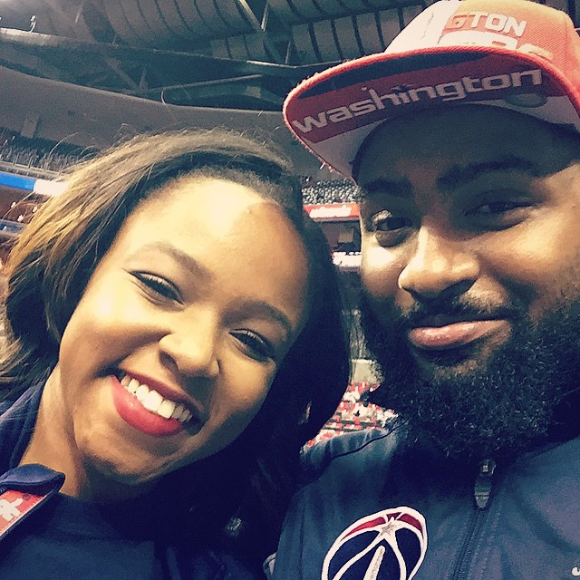 #TBT minus the cupcake. Lol the amazing @giapeppers & I before the #WizHawks Game 4. She's the greatest. 💯💯💯