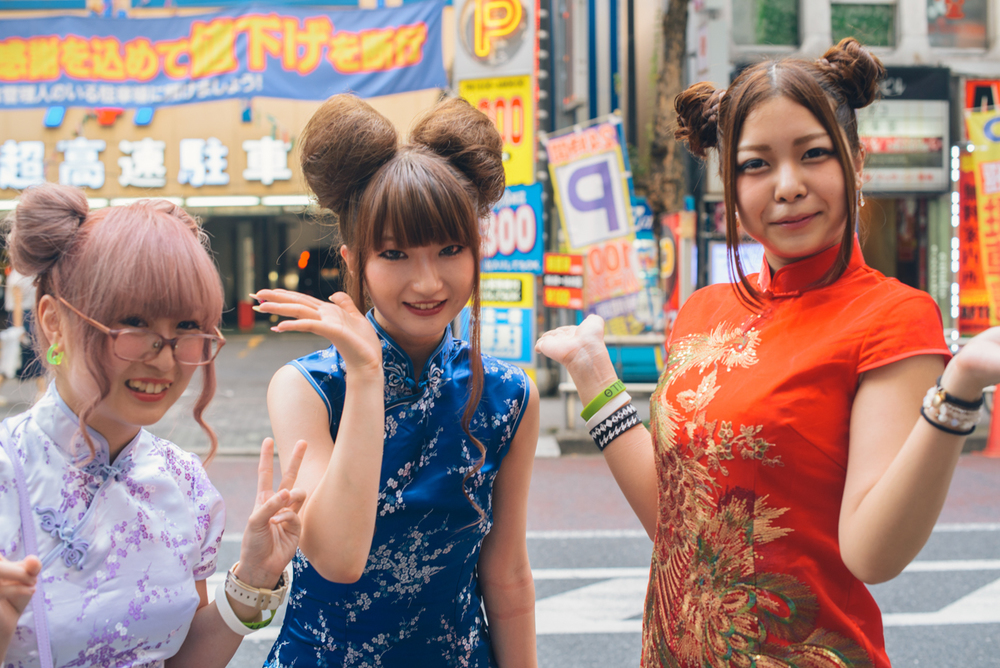 """""""Kawaii"""" in the streets of Tokyo."""