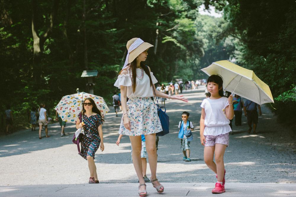 Summer days in Tokyo.