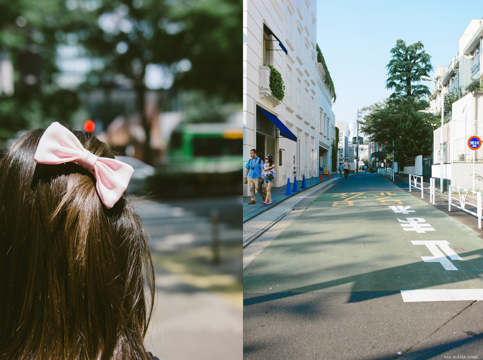 Omotesando streets.