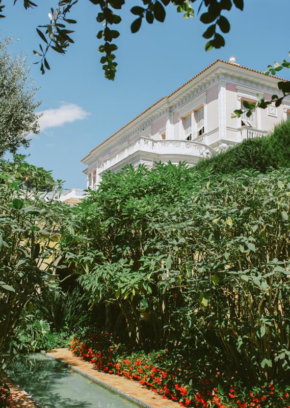 Ephrussi de Rotschild's garden.