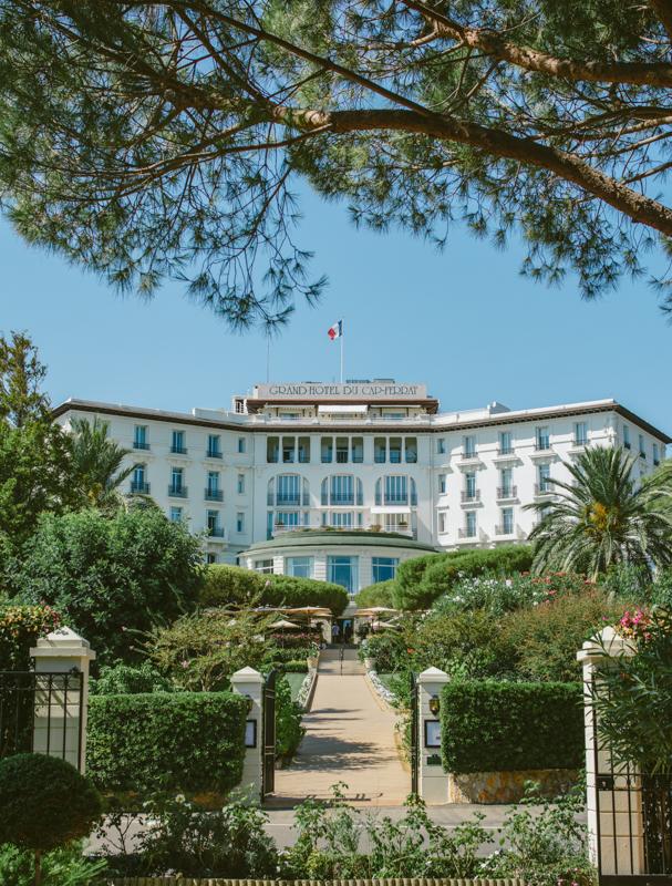 Grand Hotel de Saint Jean Cap Ferrat.