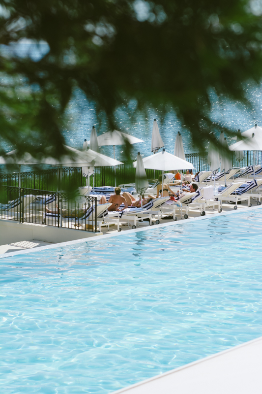 Pool at the Grand Hotel Cap Ferrat.