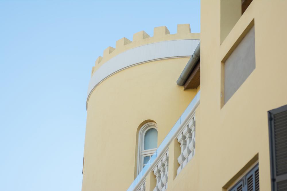 Yellow castle,Mazeh Street.