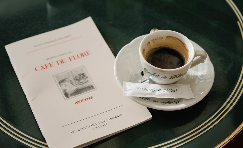CAFE DE FLORE PARIS - VIA TOLILA